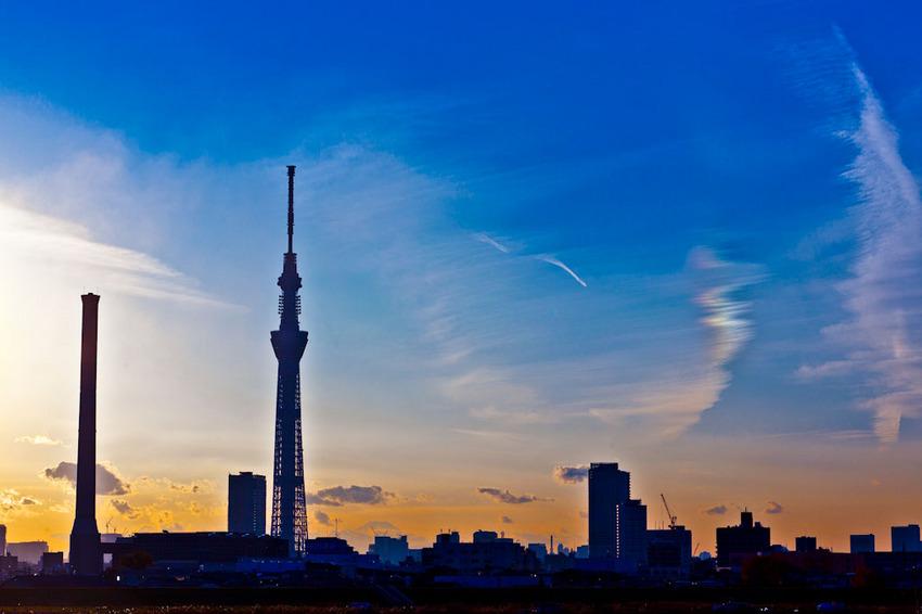 富士山と東京スカイツリー 11121004.jpg