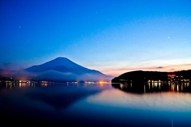 山中湖平野の夕景 10050109.jpg