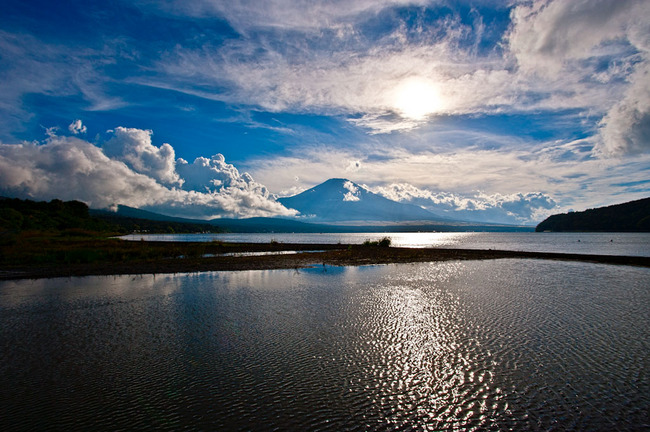 山中湖湖畔の夕 10090702.jpg