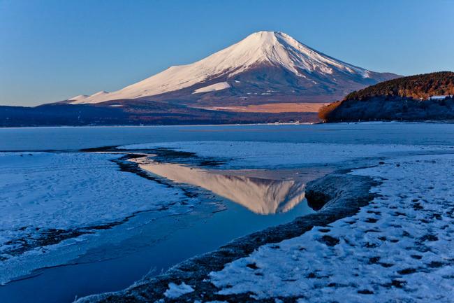 氷の平野の富士山 10011741.jpg