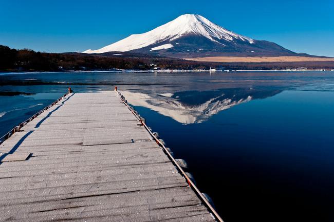氷の平野の富士山 10011755.jpg