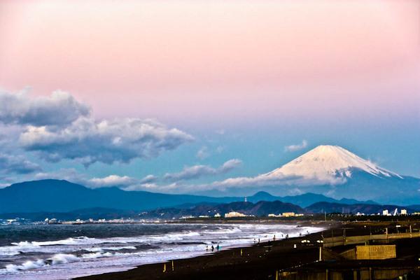 辻堂海岸の富士 08120604.jpg