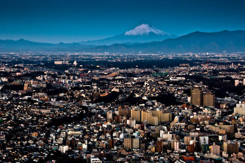 ランドマークタワーからの富士 01.jpg