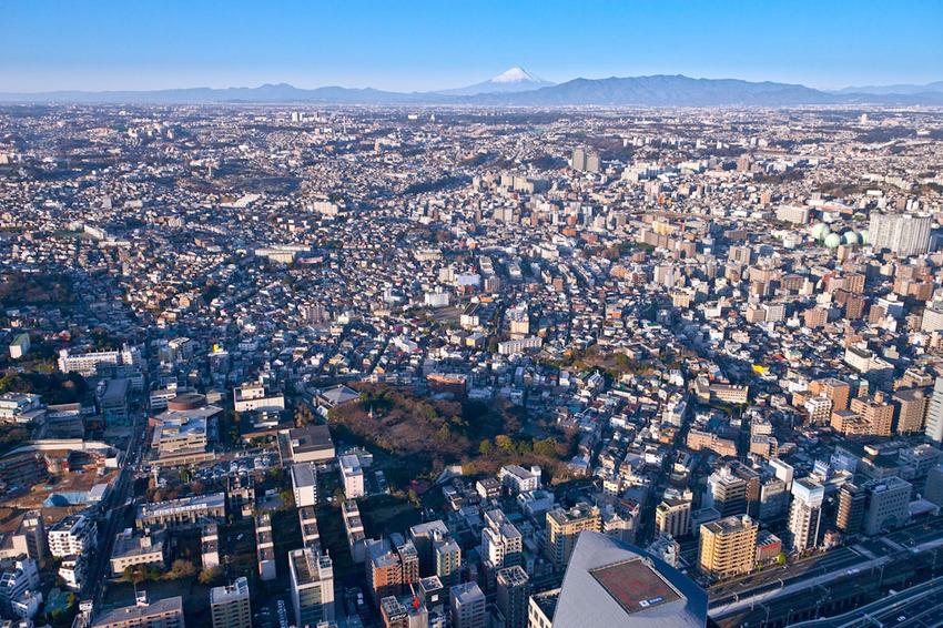 ランドマークタワーからの富士 04.jpg