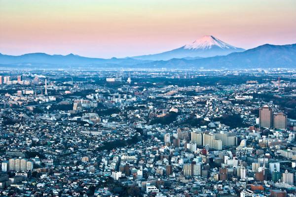 ランドマークタワーからの富士 09010112.jpg