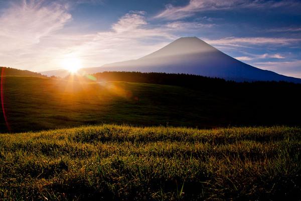 朝霧富士の日の出 10082904.jpg
