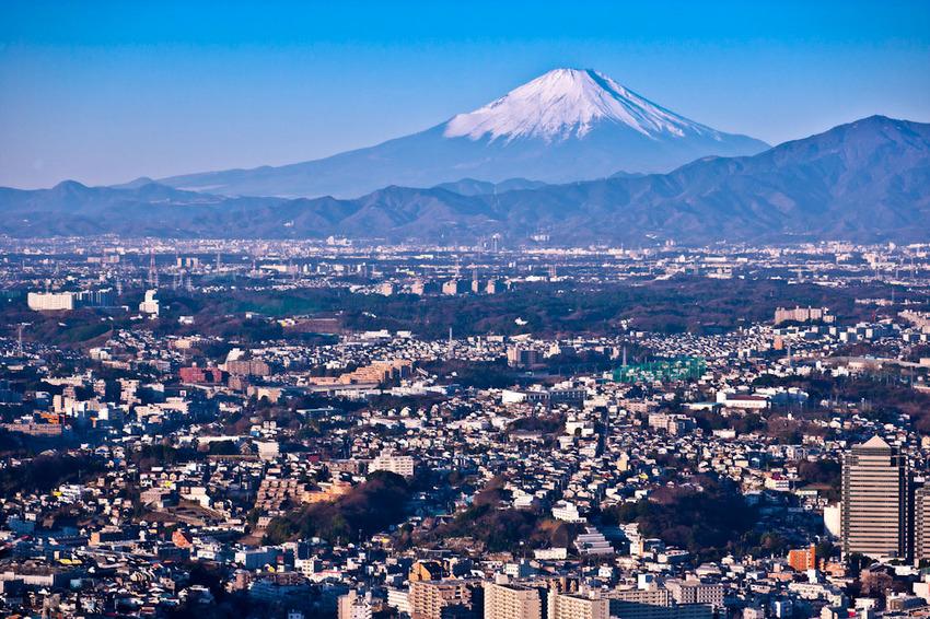ランドマークタワーからの富士 03.jpg